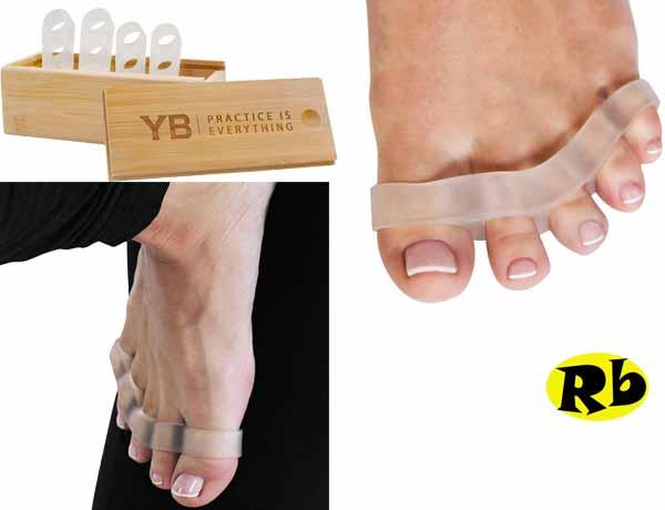 Natural toe separators by Yogabody